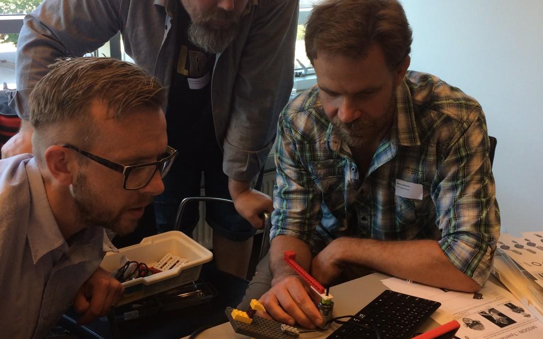 Coding Pirates workshop på CFUs It og Mediedag