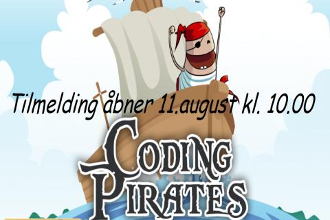 Coding Pirates Aarhus er nu åbent for tilmeldinger!