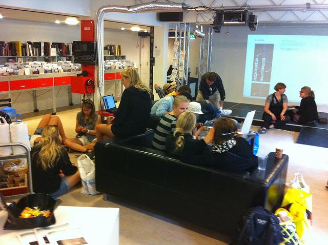 Åbent hus hos Coding Pirates i Roskilde