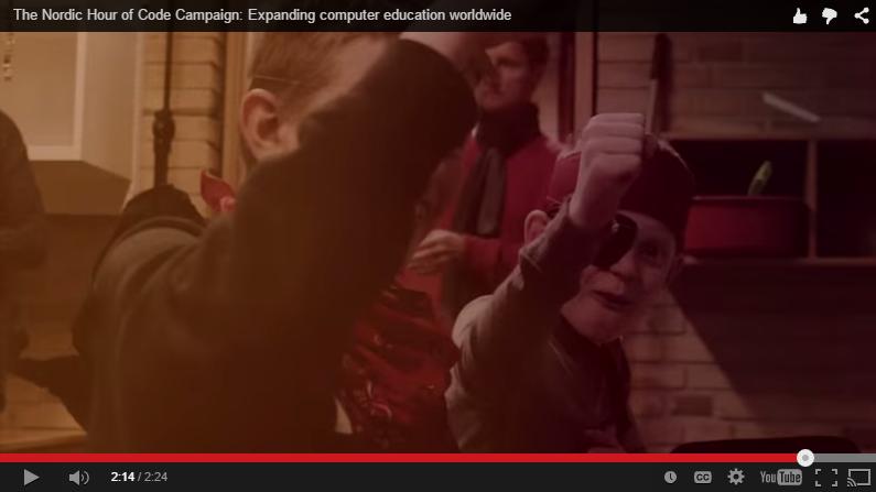 Coding Pirates i scandinavisk Microsoft-video