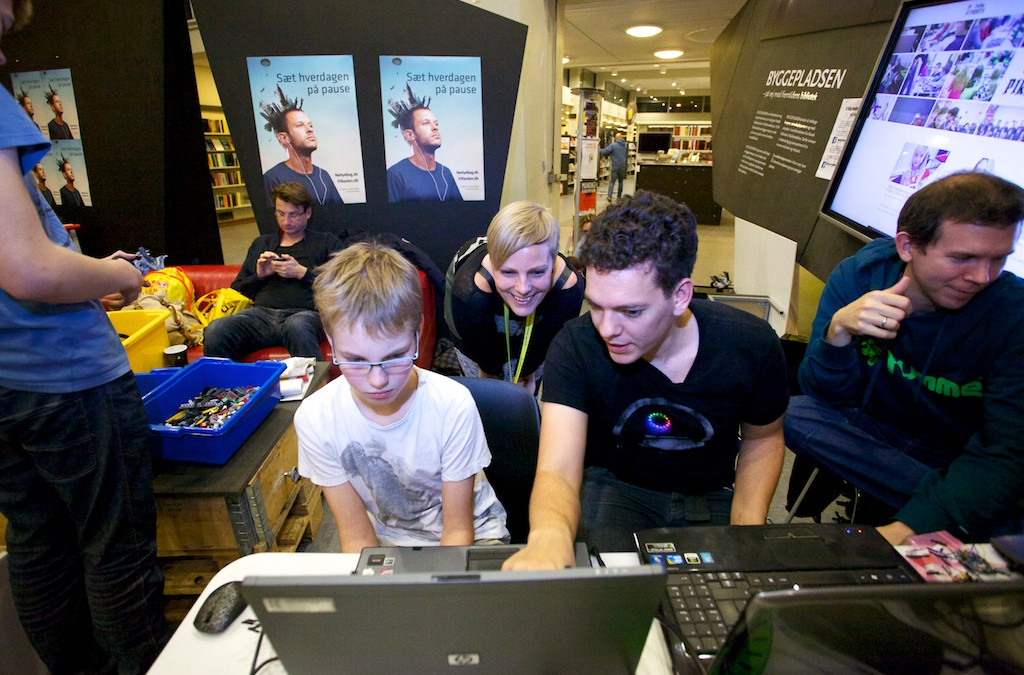 Historie om Coding Pirates på Danmarks Biblioteker