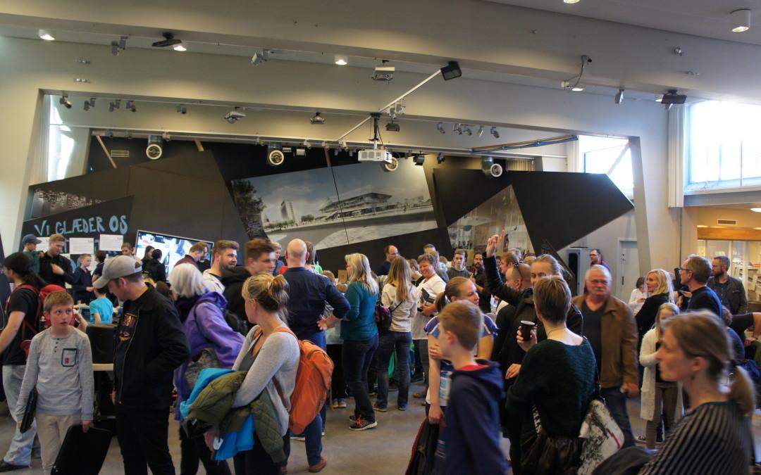 Se billeder fra åbent hus på Hovedbiblioteket i Aarhus