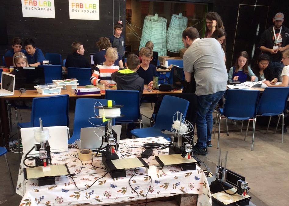 Coding Pirates besøger FabLab@School-konference i Vejle