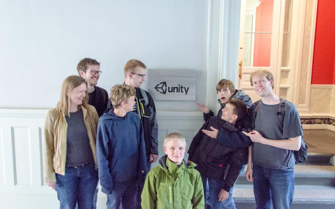 Coding Pirates besøgte Unity