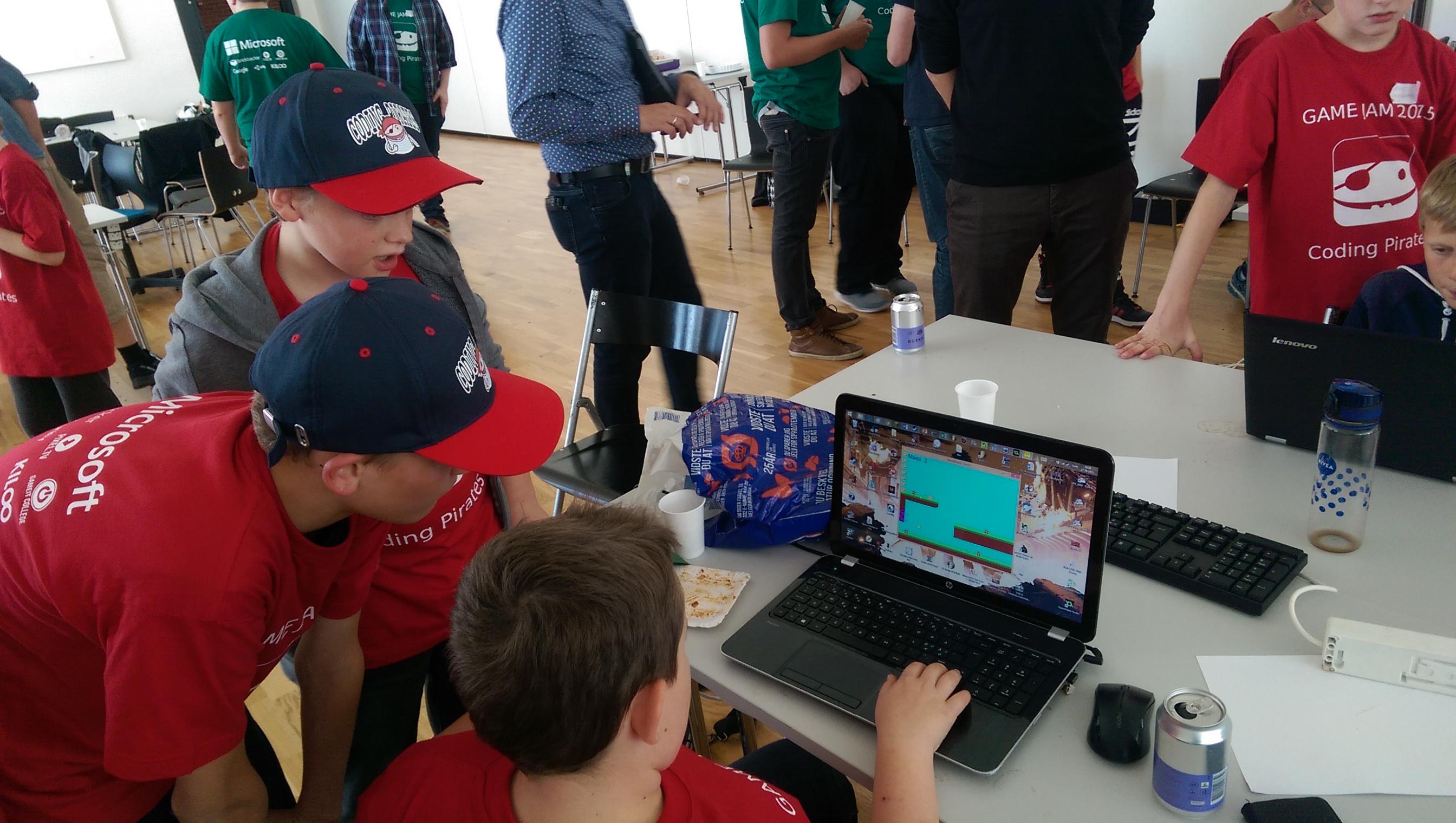 Coding Pirates Game Jam 2015
