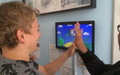 Udstilling om Coding Pirates på Storm P-museet