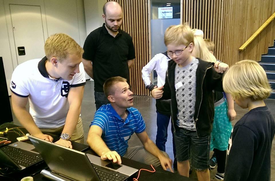Liv og glade dage hos Coding Pirates Skanderborg
