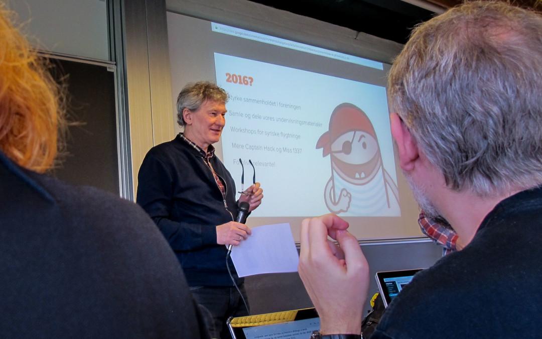 Ekstraordinær Generalforsamling i Coding Pirates Denmark