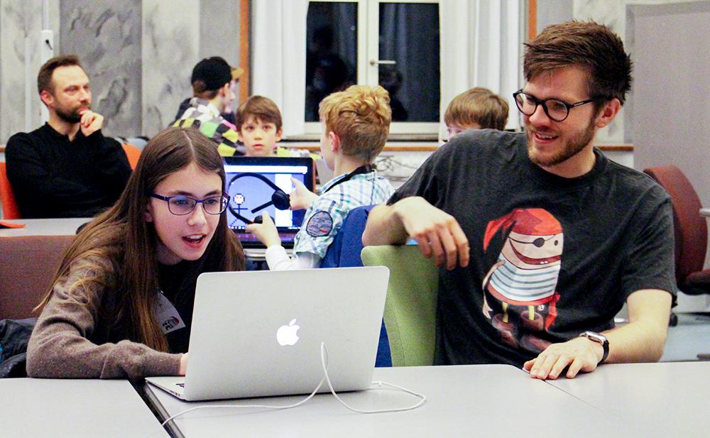 Coding Pirates DIKU sejler videre til spændende nye lokaler