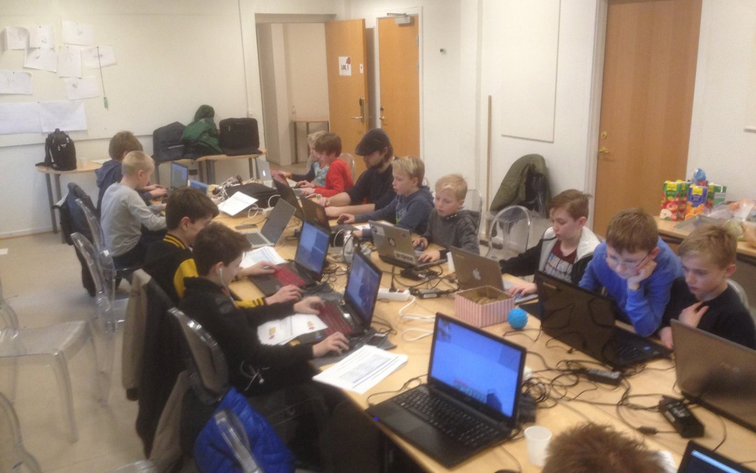 Minecraft Workshop i Odense