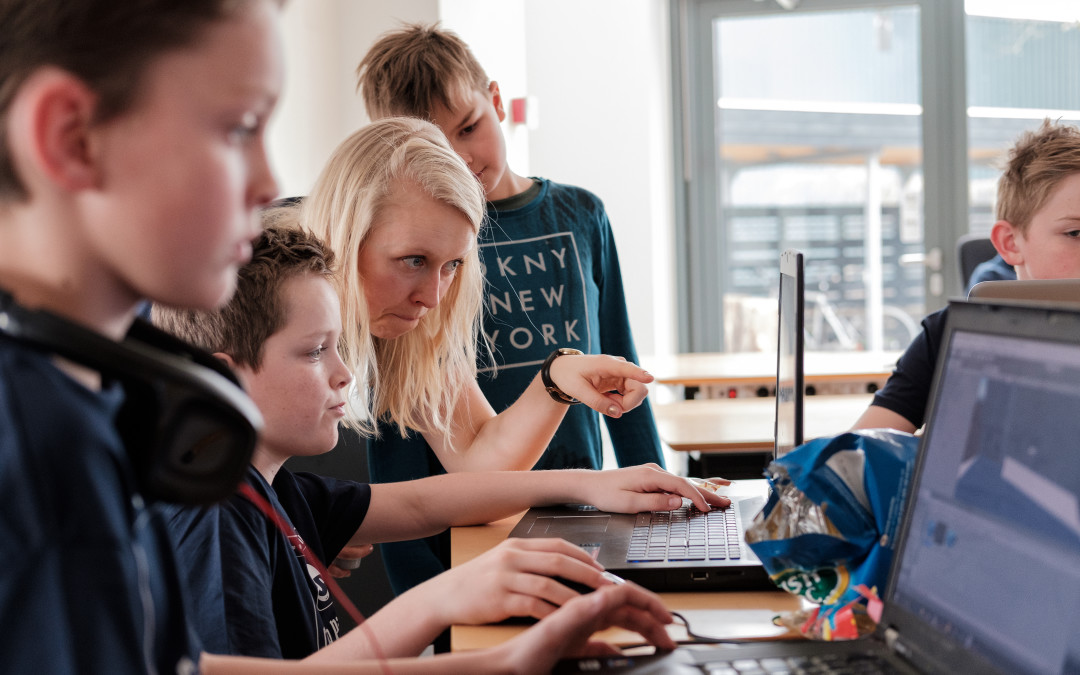 Vær med i Coding Pirates Skanderborg