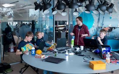 40 børn skabte computerspil til Game Jam i Aarhus