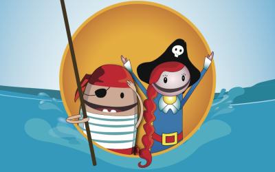 Coding Pirates er for både drenge og piger