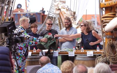 Coding Pirates viste flaget på Folkemødet på Bornholm