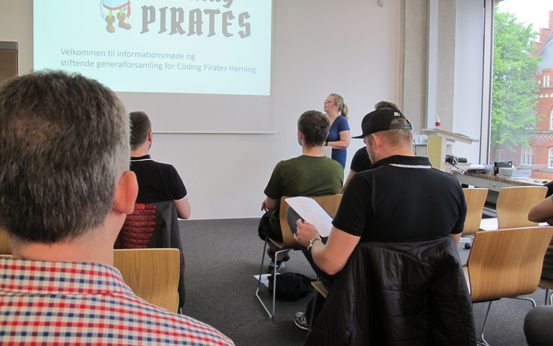 Coding Pirates Herning er en realitet