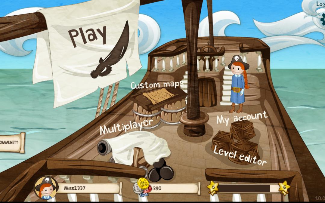 Coding Pirates-spillet på trapperne og CP-børn får det gratis