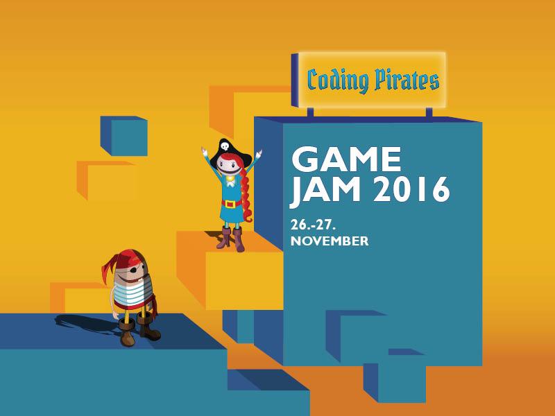Tilmelding til Coding Pirates Game Jam 2016 åbnet