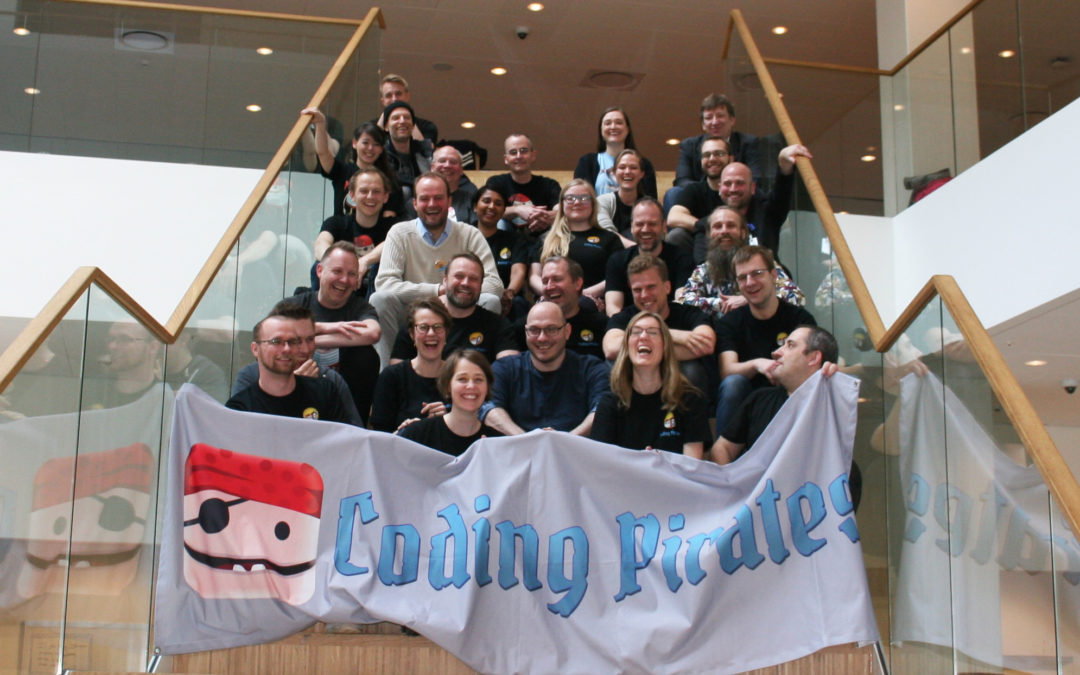 Coding Pirates Summercamp i Billund