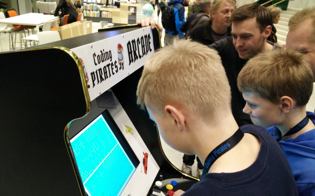 Coding Pirates GameDev sæsonafslutning