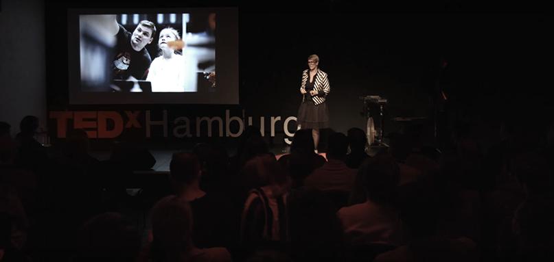 Næstformand Louise Overgaard holdt TEDx-talk