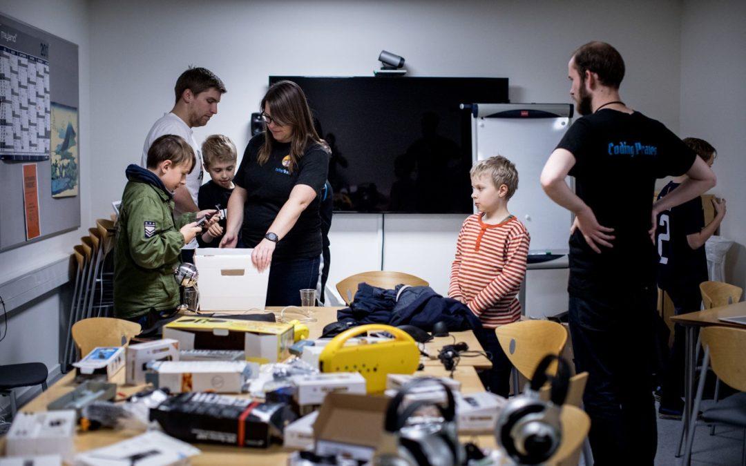 Stor elektronikdonation til afdeling i Aarhus