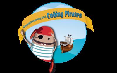 Endelig dagsorden til Coding Pirates Denmarks generalforsamling 2018