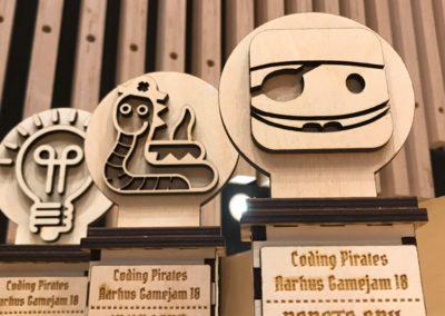 Bedste spil-prisen, Design-prisen og WildCard