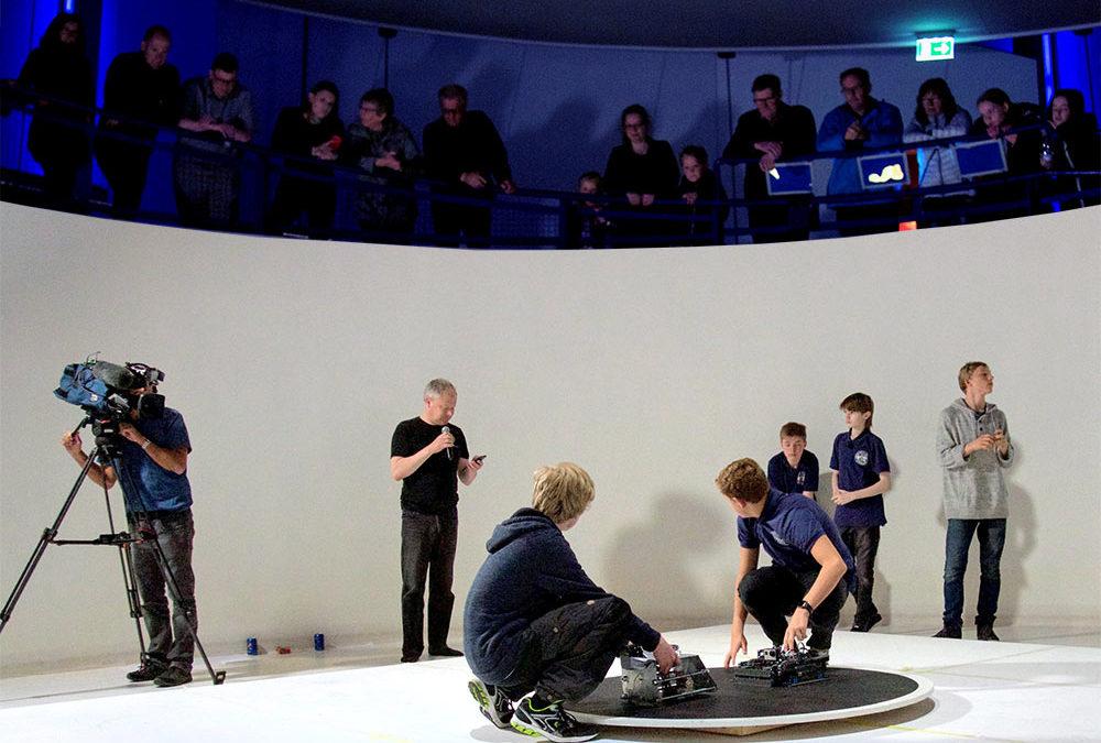 Stor opbakning til Robotturnering fra hele landet
