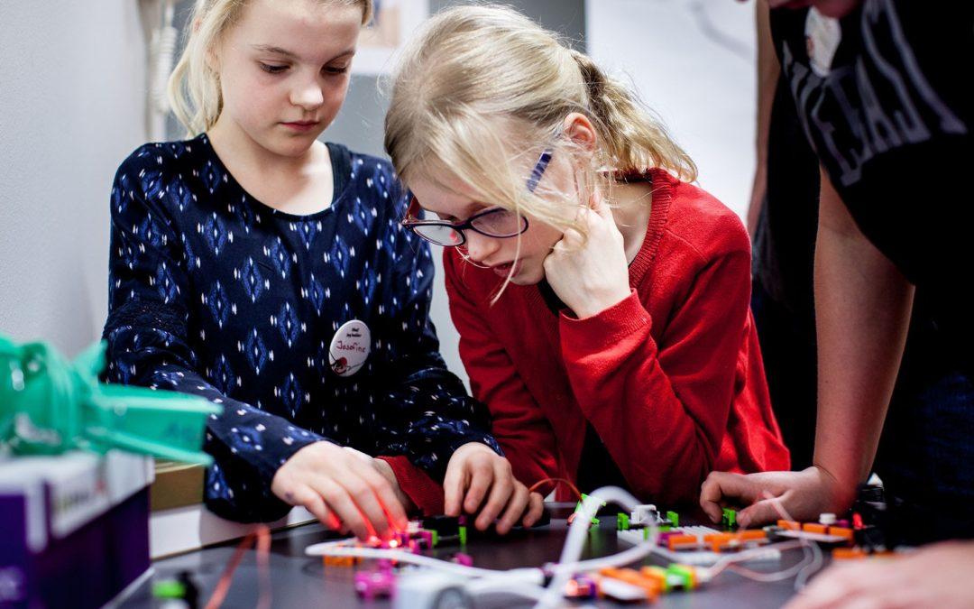 Pressemeddelelse: Nyt online fællesskab: Børn skal eksperimentere og være kreative med teknologien