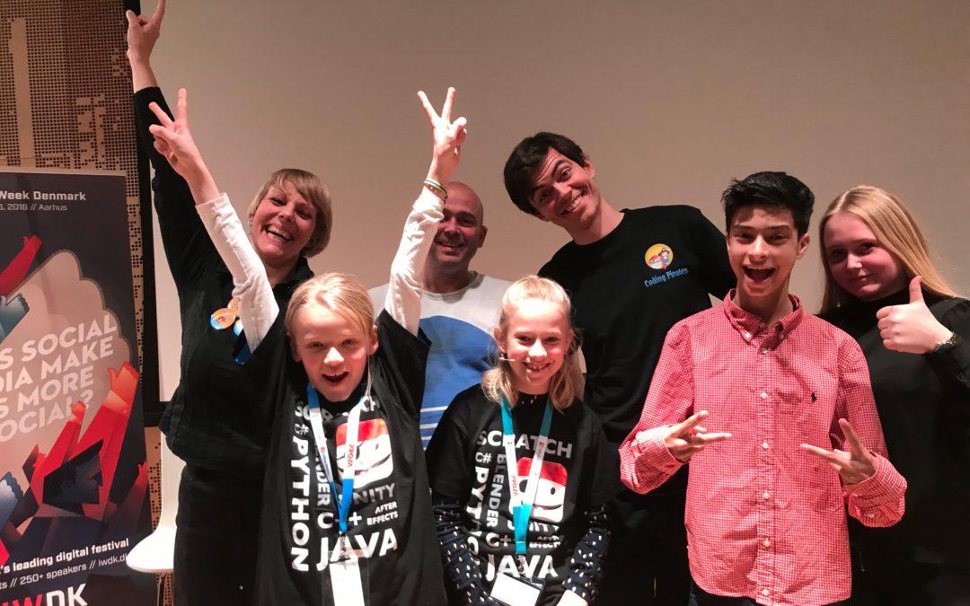 Børne IT-konferencer: Internettet Glemmer Aldrig