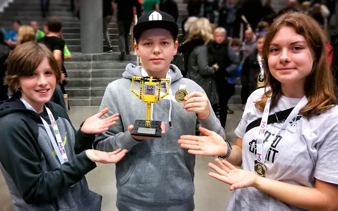 RobotPiraterne vinder Teknologiprisen ved FIRST LEGO League i Aarhus