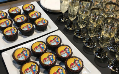 Housewarming: Coding Pirates-cupcakes, bobler og højt humør