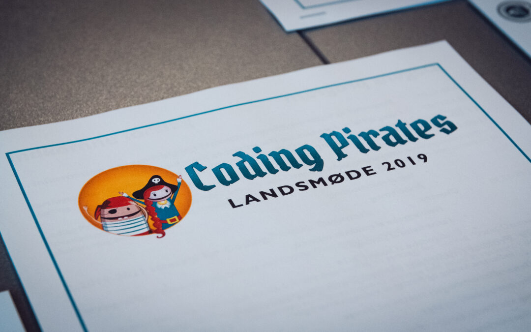 Kursen blev sat for Coding Pirates på Landsmødet 2019