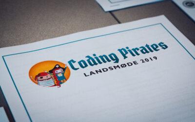 Kursen blev sat for Coding Pirates på Landsmødet 2019