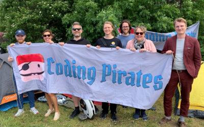 Coding Pirates satte dagsordenen på Folkemødet 2019