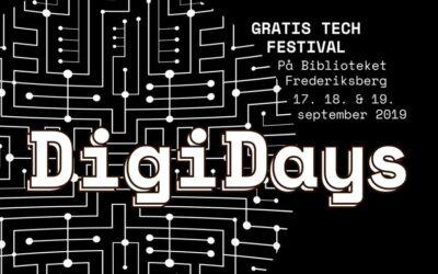 DigiDays 2019 – Børn, unge og voksne blev klogere på teknologi