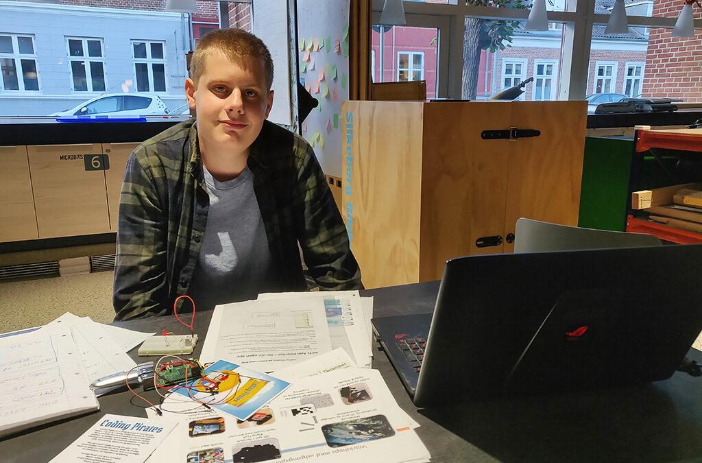 15-årige Noah taler piraternes stemme i bestyrelsen i Silkeborg