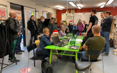 MakerSpace 9220 imponerede de nordjyske kodepirater
