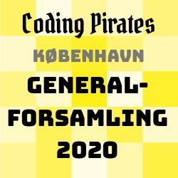 Opstillede kandidater til Coding Pirates Københavns bestyrelse 2020