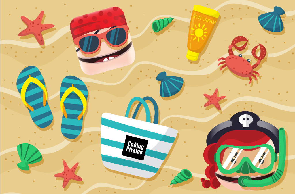 Sommerferieaktiviteter: Her kan pirater være aktive i sommerlandet