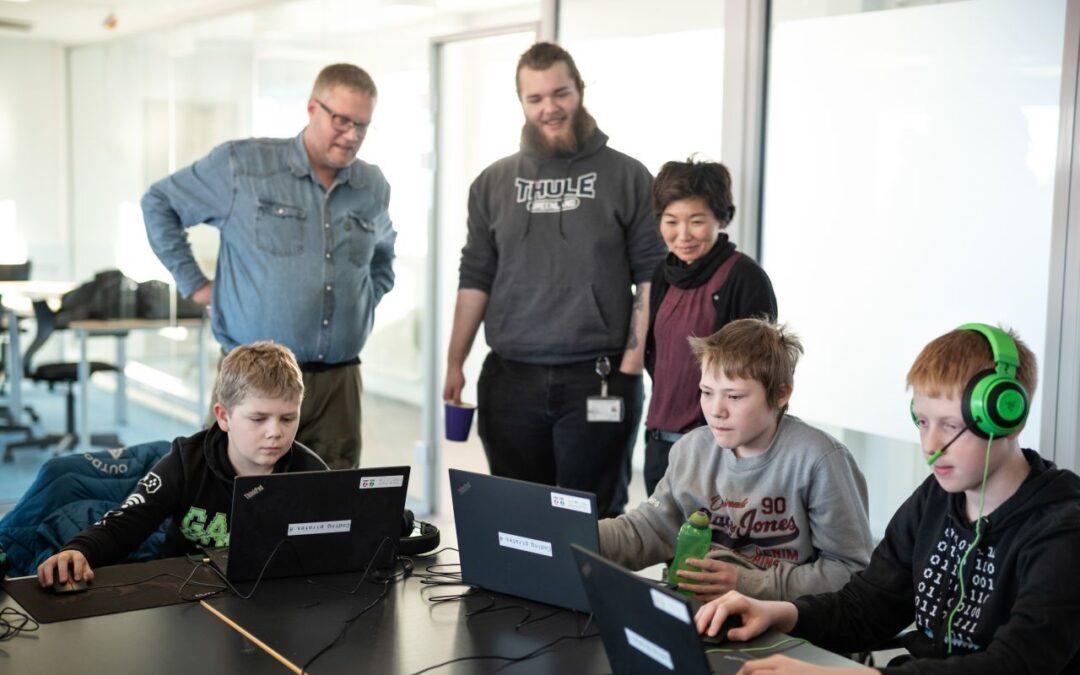 Coding Pirates i Grønland